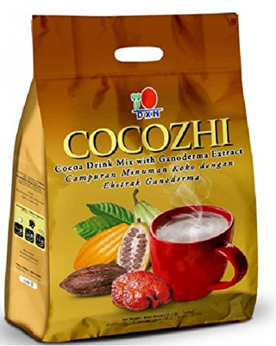 MUST BUY ! 25 Pack DXN Cocozhi Cocoa Drink with Ganoderma ( Total : 500 sachets x 32 g ) by DXN