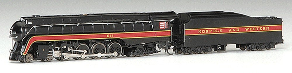 Bachmann Industries Norfolk  Western Class J 1950S - 60S DCC Ready Steam Locomotive (N Scale)