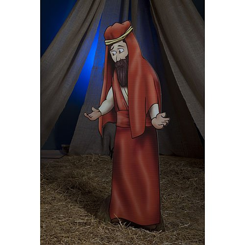 Joseph Nativity Standee Standup Photo Booth Prop Background Backdrop Party Decoration Decor Scene Setter Cardboard Cutout -