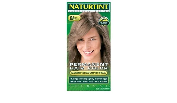 Naturtint - Tinte permanente para el cabello – 8A Rubio ...