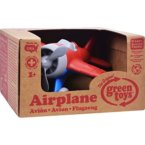 Green Toys Airplane - Red, 2 - Green Toys Airplane