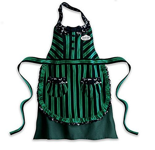 Disney Haunted Mansion Ghost Host Hostess Maid Kitchen Apron Adult Authentic -