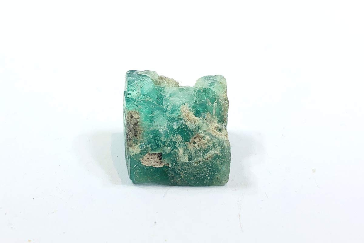 Fluorite, Twins - Green, (UV Fluorescent) Healing Crystal, [Peace] [RSA826] UKGE