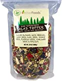 Raw Superfoods Salad Toppings Mix (Goji Berries, Raisins, Almonds, Chia, Flax, Pumpkin, Sesame and Sunflower Seeds) 24 oz