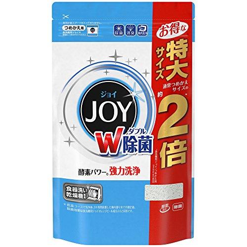 【大容量】 食洗機用 ジョイ 食洗機用洗剤 除菌 詰め替え 特大 930g