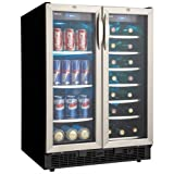 Appliances : Danby DBC2760BLS 5.0 Cu. Ft. Silhouette Beverage Center - Black/Stainless