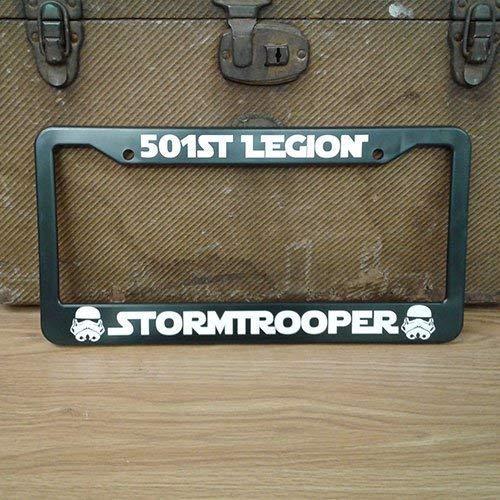 Happylicenseplateframeaa 501st Legion Stormtrooper License Plate -