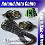 20FT 13PIN MIDI CABLE ROLAND GR33 GR20 GR30 GR VG 20 33 PLANET WAVES