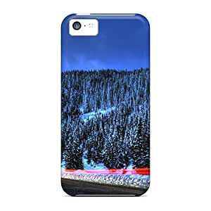 Fashion GBN49626UkiL Cases Covers For Iphone 5c(beautiful Romanian Winter)