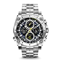 Bulova Men's Precisionist Chronograph Stainless Steel Watch Deals