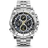 Bulova Men's 96B175 Precisionist Stainless Steel Watch