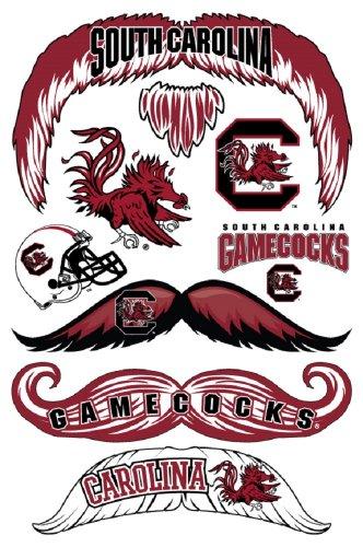 StacheTATS South Carolina Temporary Mustache -