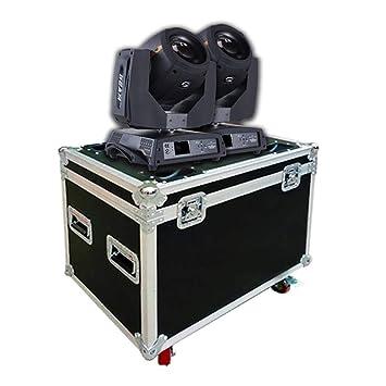 tradeshoptraesio- 2 Cabezales Muebles Beam 230 Foco LED RGB 30 W ...