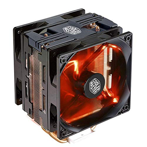 120mm red cooler master - 8