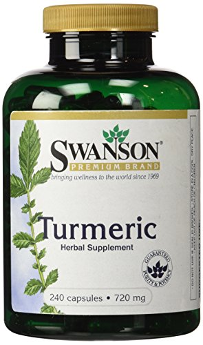Swanson Premium Turmeric Powder Capsules 2
