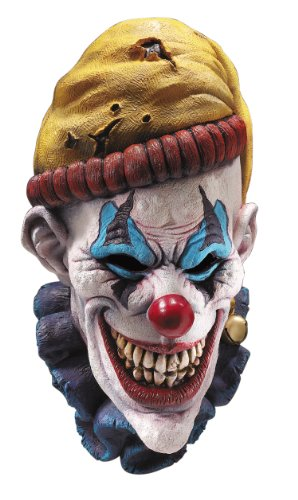Rubie's Insano The Clown Overhead Mask, Multi Color, One Size