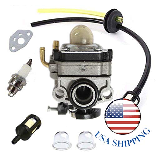 Shnile 753-05440 Carburetor for Cub Cadet CC4105 CC4125 CC4165 CC4175 ST4125 ST4175 String Trimmer Yard-Man YM4125CS YM4520 YM4570 MP475 Yard Machine Craftsman Edger Carb Replaces MTD 753-05830 WYL-24