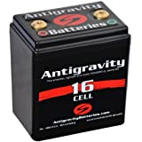 Antigravity Batteries AG-1601 16-Cell Lithium Ion Motorcycle Battery