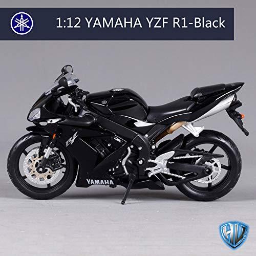 - GreenSun 1:12 Yamaha YZF-R1 R1 Motorcycle Bike Model Blue Black White S 1000 RR/R 1200 GS 31102