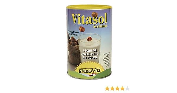 Granovita Vitasol Avellanas Bebida Vegetal - 400 gr: Amazon.es: Alimentación y bebidas