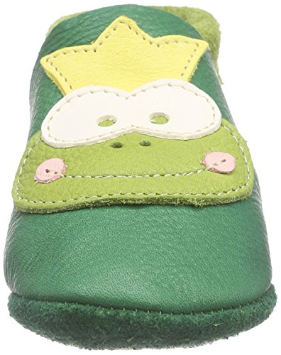 419 Grün Frosch Enfant Mixte Non Courts Chaussons Pololo Doublées Tabaluga HpaqgwU