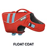 RUFFWEAR - Float Coat Dog Life Jacket for Swimming, Adjustable and Reflective, Sockeye Red, Medium