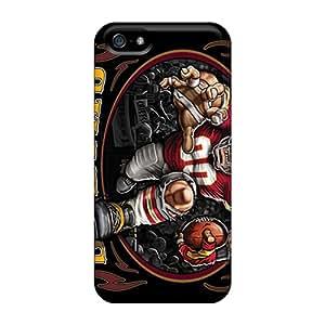Iphone 5/5s Lbz12575qZNo Allow Personal Design Trendy Kansas City Chiefs Image Shock Absorbent Hard Cell-phone Case -ErleneRobinson