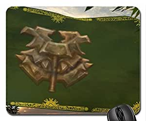 Flag of the Wildhammer clan Mouse Pad, Mousepad (10.2 x 8.3 x 0.12 inches)