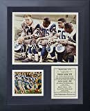 "Legends Never Die ""Los Angeles Rams Fearsome Foursome"" Framed Photo Collage, 11 x 14-Inch"