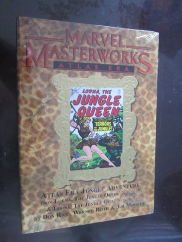 Marvel Masterworks Atlas Era Jungle Adventure 1