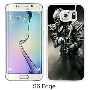 For Samsung Galaxy S6 Edge,47 Ronin Samurai Armure Sword White Protective Case For Samsung Galaxy S6 Edge