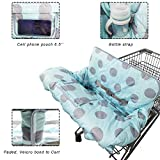 Shopping Cart Cover for Baby Girl boy, Cotton High
