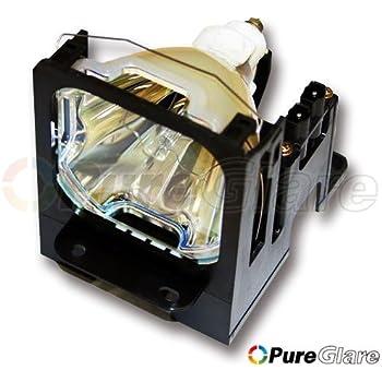 Amazon.com: Pureglare VLT-XL5950LP Projector Lamp for Mitsubishi ...