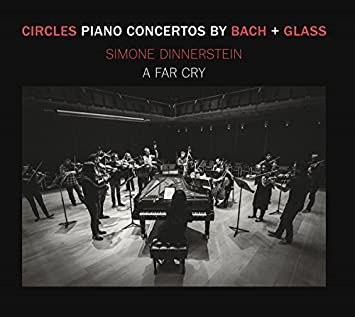 Circles - Piano Concertos by Glass + Bach