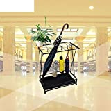 GX&XD Umbrella stands Rack Rain gear shelves Entryway hallway Storage shelf European style Ground-B 44x24x60cm(17x9x24)