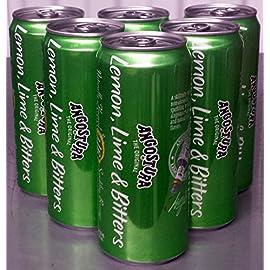 Angostura Lemon lime bitters beverage 12 fl oz ea - 6-pack 84 Skillfully blended non-alcoholic drink Sparkling beverage of Angostura aromatic bitters Natural lemon and lime flavor