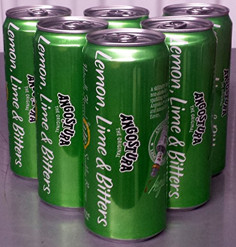 Angostura Lemon Lime Bitters Beverage 12 Fl Oz Ea 6 Pack Mk Library