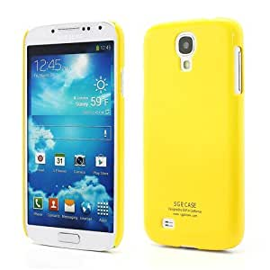 JUJEO SGP Slim Glossy Hard Protective Shell for Samsung Galaxy S IV S4 i9500 i9505 - Non-Retail Packaging - Yellow
