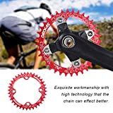 DECKAS Narrow Wide Bike MTB Round Oval Chainring Chain Ring Single Plate
