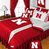 NCAA Nebraska Huskers Football 5pc Twin Bedding Set