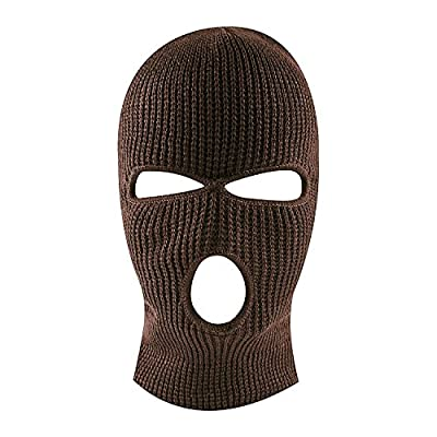Super Z Outlet Knit Sew Outdoor Full Face Cover Thermal Ski Mask by