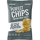 IPS Protein Chips | Sea Salt and Black Pepper | 1 Ounce (Pack of 6)