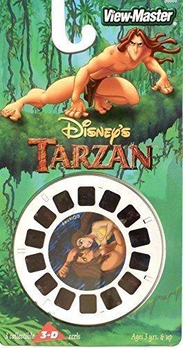 Disney's Tarzan View-Master 3 REEL SET - 21 3D Images