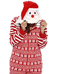 Holiday Santa Adult Onesie / Pajamas