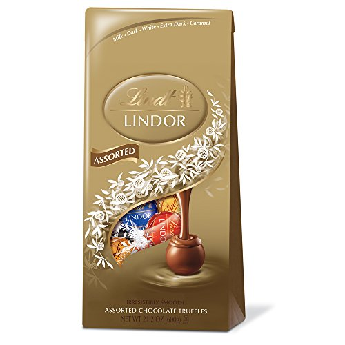 - Lindor Assorted Chocolate Truffles, 21.2 ounce