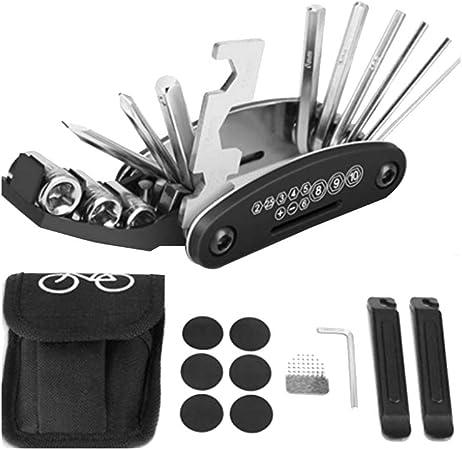 1pcs Bike Bicycle Multi-function Steel Wrench Repair Tool Kits HOT