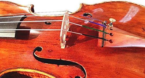 R-087 Silver wound Italian Violin Strings w// Bright tone and color indicators