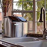 NewAir ClearIce40, Countertop Clear Ice Maker Machine, Makes 40 lbs of...