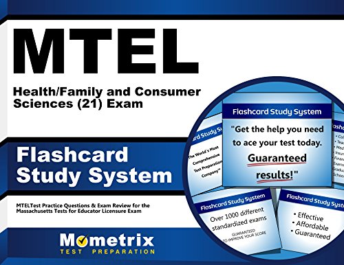 MTEL Health/Family and Consumer Sciences (21) Exam Flashcard Study System: MTEL Test Practice Questions & Exam Review for the Massachusetts Tests for Educator Licensure (Cards)