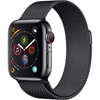 AppleWatch Series4 (GPS+Cellular, 40mm) - Space Black Stainless Steel Case with Space Black Milanese Loop (B07JCCB4X8) | Amazon price tracker / tracking, Amazon price history charts, Amazon price watches, Amazon price drop alerts